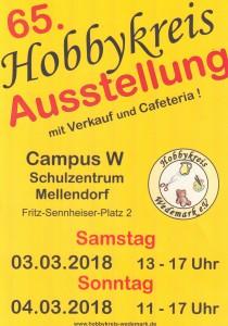 Hobbykreis Plakat Frühjahr 2018